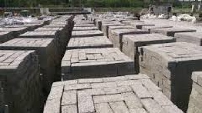 Cement Stock Bricks 1